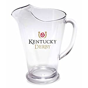 Kentucky Derby Ice-lip Plastic Pitcher
