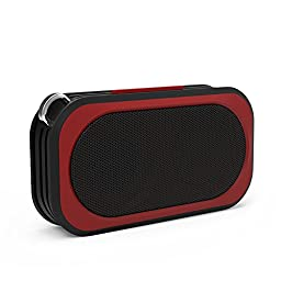 Proxelle Wireless Waterproof Bluetooth Speakers - Red