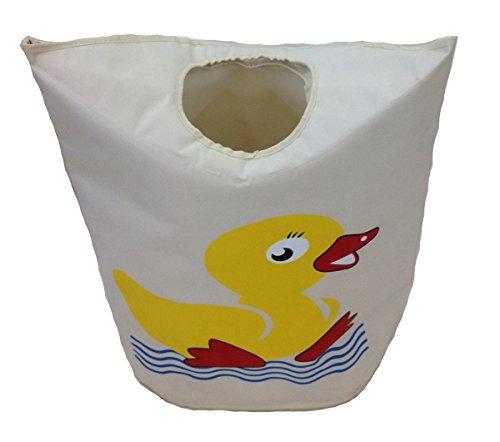 Design Canard Sac de jouet XXL 70 cm x 57 cm x 28 cm Coffre à jouets Sac de rangement Bac de rangement Meubles pour enfants