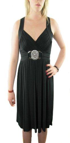 robe-slinky-maxi-long-avec-boucle-argentee-femme-40-42
