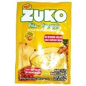 Amazon.com : Zuko Pineapple Drink Mix 96x 0.9OZ : Grocery