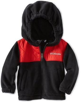 Columbia Baby-boys Fleece Jacket 哥伦比亚男童羊毛外套 黑色 ...