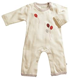 Babysoy Oh Soy One Piece- Cloud (Size: 6-12 Months/Pale Yellow)