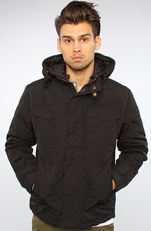 Spiewak The Carson Field Jacket in Black,Large,Black