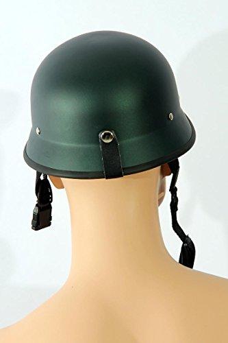 Motorcycle helmets Half shell helmet TC-66 Matt green L (one size) ABS, Polycarbon Polystyrene