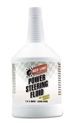 Red Line 30404 Power Steering Fluid - 1 Quart Bottle