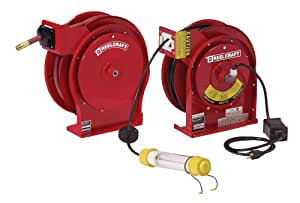 Reelcraft TP5650 OLP/L 4050 162 2-92 Spring Driven Reel Twin Pack for Air/Water and Fluorescent Light