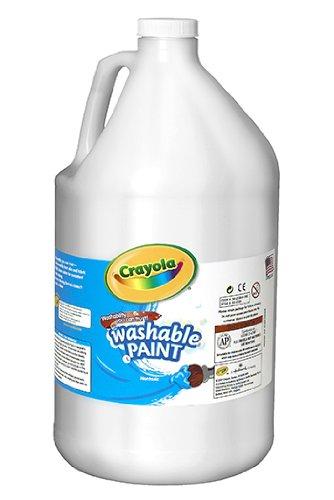 Crayola Washable Paint 128oz White 542128053