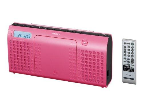 SONY CDラジオ E70 ピンク ZS-E70/P