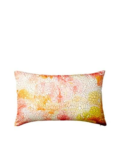 Nitin Goyal London Mosaic Silk Lumbar Pillow