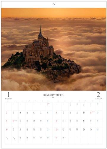2011「モン-サン-ミシェル」壁掛 モン=サン=ミシェル