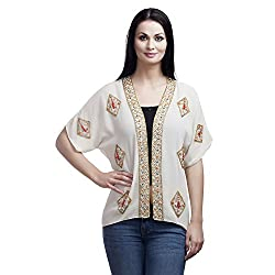 MansiCollections Causal Women's Shrug (Large)