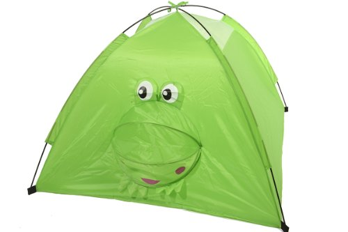 "31"" Pop-Up Green Frog Children'S Play Tent With Storage Bag front-97778"