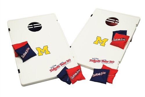 Ncaa Michigan Wolverines 2.0 Tailgate Toss Game front-409274