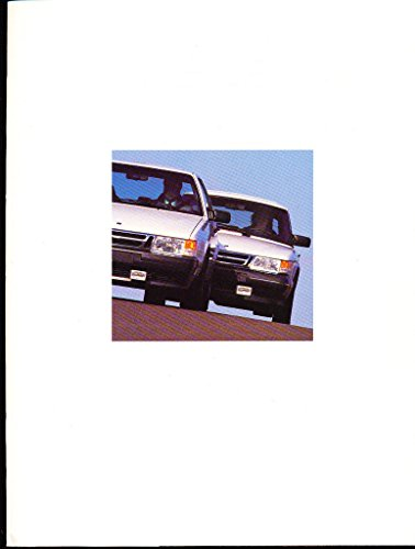 1989 SAAB 9000 and 900 50-page Car Sales Brochure Catalog - Turbo Convertible