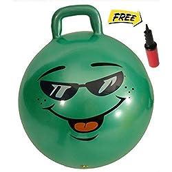 Green Jumping Hop Hopper Hoppity Ball: Ages 3-6 (Small)