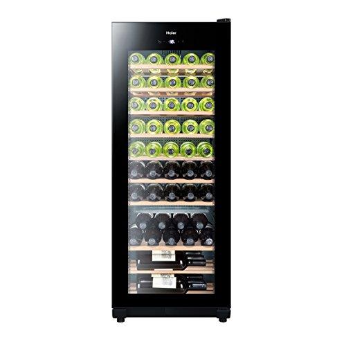 Haier WS50GA refroidisseur à vin - refroidisseurs à vin (Autonome, Noir, 16 - 38 °C, A, Noir, Bois)