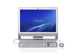 Sony VAIO VGC-JS160J/S 20.1-Inch All-in-one PC (2.5 GHz Intel Pentium Dual-Core E5200 Processor, 4 GB RAM, 500 GB Hard Drive, Blu-ray Drive, Vista Premium) Silver