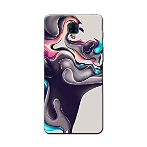 PAINTED FACE BACK COVER FOR ONE PLUS 3