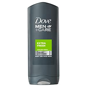 Dove for Men Extra Fresh Body and Face Wash - 400 ml