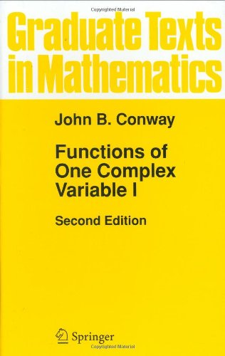 Functions of One Complex Variable (Graduate Texts in...
