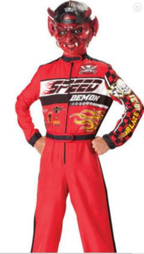 Speed Demon Child Sz 10 Kids Boys Costume