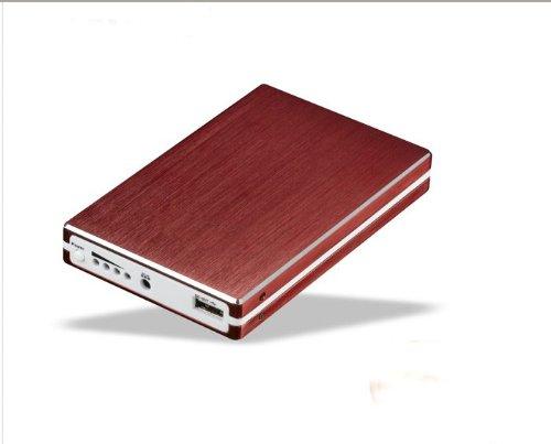 【9600mAh】大容量 バッテリーチャージャー(レッド) docomo au SB携帯電話、スマートフォンやゲーム機の予備バッテリーに!