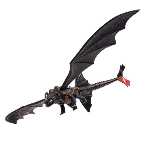 Dreamworks Dragons Defenders Of Berk Toothless Night Fury Dragon (Spinning Tail) Action Figure front-528451