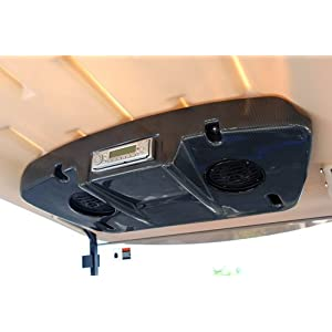 Black And White Low Profile Lifted Golf Cart also Golf Cart Fans Portable in addition 80301 1979 Forward Reverse Unit likewise Joyingradio blogspot likewise E Z Go RXV 2FIVE Golf Cart Stereo Radio Speaker Pods Enclosure Kit Console DIN. on golf cart overhead stereo