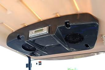 Yamaha golf cart 2010 stereo console w for Yamaha golf cart repair near me