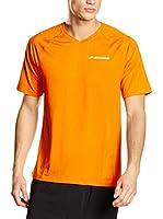 Brooks Camiseta Manga Corta (Naranja)