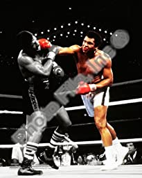 Muhammad Ali Vs. Leon Spinks Las Vegas, NV. 1978 - Boxing 8x10 Photo (Spotlight)