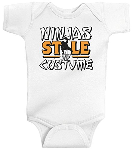 Threadrock Unisex Baby Ninjas Stole My Costume Bodysuit