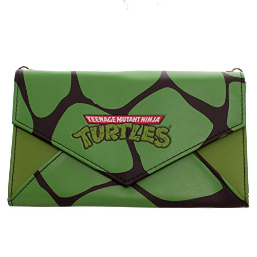 Teenage Mutant Ninja Turtles Envelope Wallet With Chain (Ninja Turtles Chain Wallet compare prices)