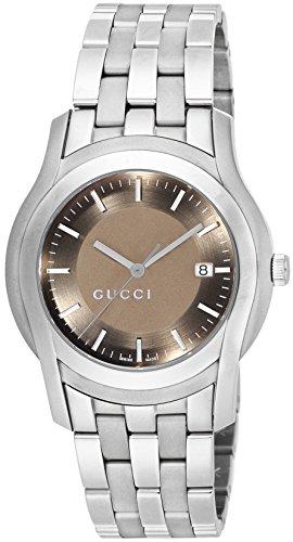 [グッチ]GUCCI 腕時計 Gクラス ブラウン文字盤 YA055215 メンズ 【並行輸入品】