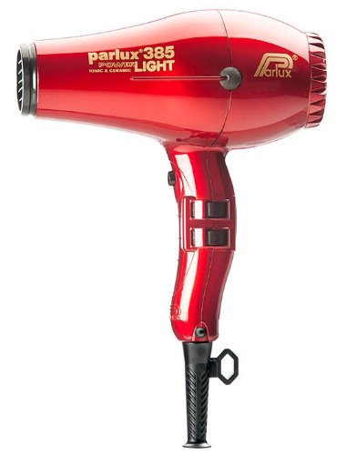 Parlux 385 Power Light Ionic & Ceramic Hair Dryer - Red (Hair Dryer Parlux 385 compare prices)