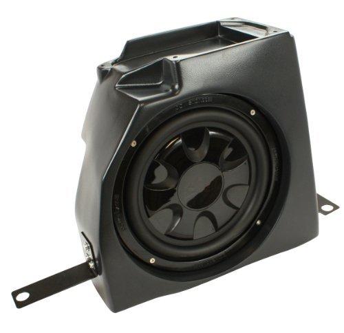 """Ssv Works Jeep Wrangler Tj Center Console Subwoofer Enclosure Designed For A Thin Mount 10"""" Speaker"""