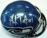 Lofa Tatupu Autographed/Hand Signed Seattle Seahawks Mini Helmet at Amazon.com
