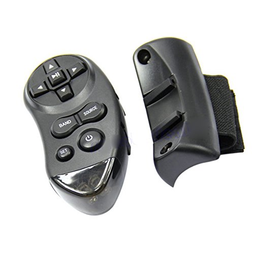 Sizet Universal Steering Wheel IR Remote Control For Car CD DVD TV MP3 Player (Universal Remote Control For Cars compare prices)