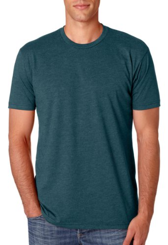 Next Level Men'S Cvc Jersey T-Shirt, Indigo, Large (Pack12) front-12761