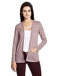 People Women's Blouson Jacket (P20401116075129_Wine_Medium)