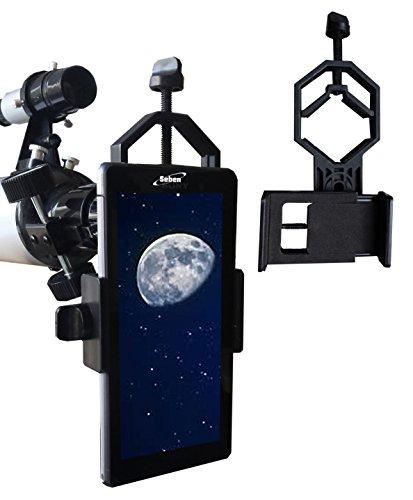 Seben adaptateur smartphone portable universel Digiscoping Adapter DKA5 pour télescope, jumelles, lunette, microscope, monoculaire