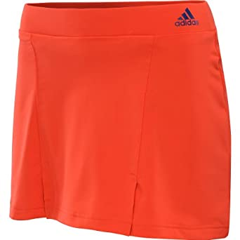 Adidas Ladies Galaxy Skort Red by adidas