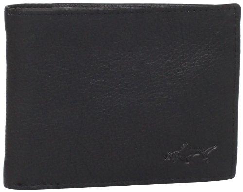 Greg Norman Men's Pebble Passcase, Black, One Size