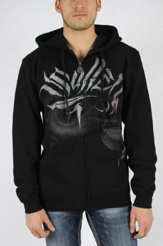 Sullen - Mens Tyrell Hoodie In Black, Size: Small, Color: Black