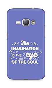 Amez The Imagination is the Eye of the Soul Back Cover For Samsung Galaxy J1 2016