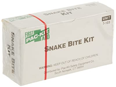 Pac-Kit 7103 11 Piece Snake Bite First Aid Kit In Box by Pac-Kit