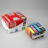 キヤノン CANON BCI-7eC 7eM 7eY+BCI-9BK 対応 4本 セット ジットリサイクルインクカートリッジ 箱にキズ、汚れのあるアウトレット品です。
