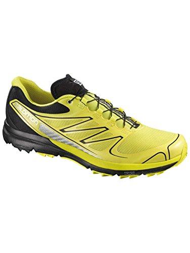 SALOMON Citytrail Sense Pro Scarpa da Trail Running Uomo, Giallo/Nero, 46