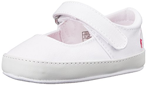 Infant Girl's Ralph Lauren Layette 'Sandy' Mary Jane, Size 3